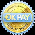 Verify OKPAY user information.